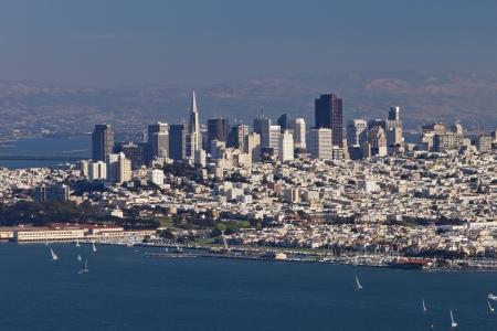 transamerica: San Francisco Panorama from San Francisco Bay