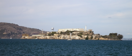 Alcatraz jail in San Francisco bay Stock Photo - 17092017