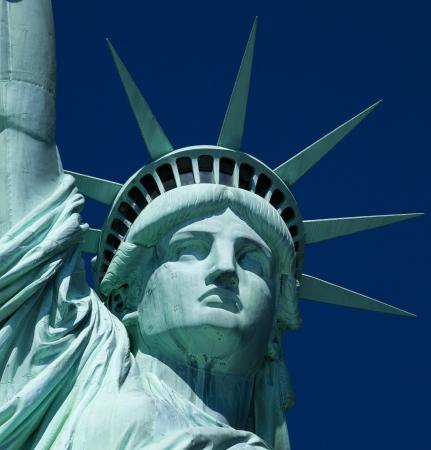 dama de la justicia: La Estatua de la Libertad en Nueva York