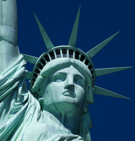 statue of liberty: The Statue of Liberty at New York City