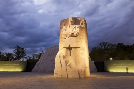 WASHINGTON, DC - OCTOBER 10: Memorial to Dr. Martin Luther King on October 10, 2012