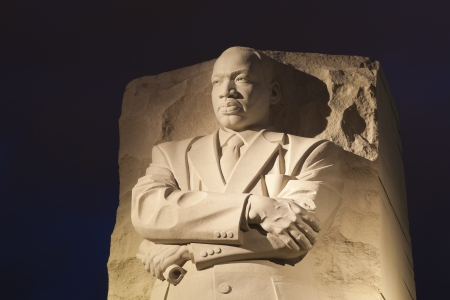 assassinated: WASHINGTON, DC - OCTOBER 10: Memorial to Dr. Martin Luther King on October 10, 2012