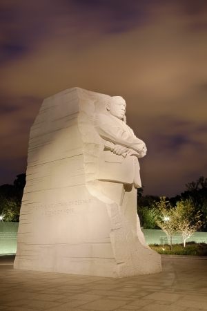 WASHINGTON, DC - OCTOBER 10: Memorial to Dr. Martin Luther King on October 10, 2012. The memorial is Americas 395th national park.