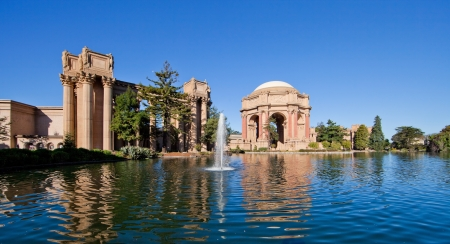 fine arts: Palace of Fine Arts in San Francisco