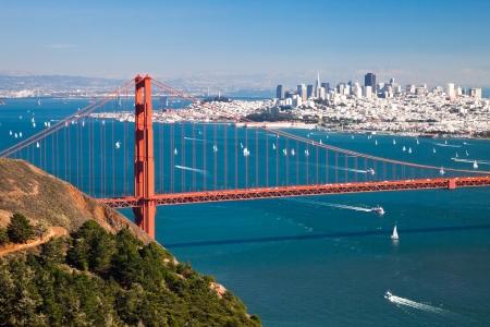San Francisco Panorama from San Francisco Bay photo