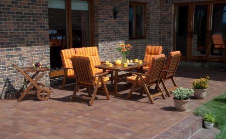 Luxury Garden furniture at the patio