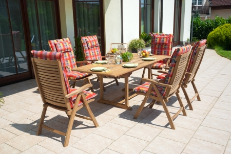 garden furniture: Luxury Garden furniture at the patio