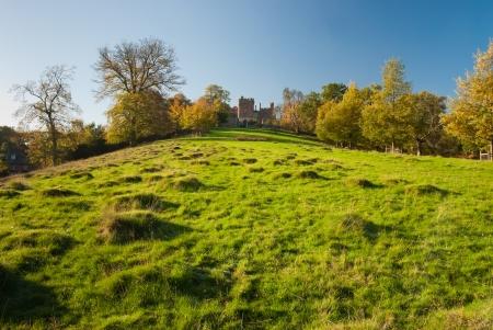 pastureland: Large pastureland and woods in Wales