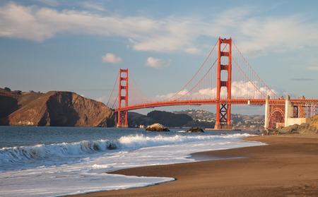 The Golden Gate Bridge in San Francisco bay Stock fotó