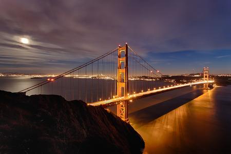 The Golden Gate Bridge in San Francisco bay photo