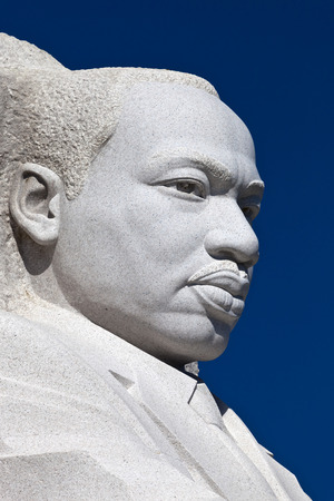 luther: Washington DC, USA - October 17, 2014: The Martin Luther King Jr. Memorial located on the National Mall on the Tidal Basin in Washington DC is America Editorial