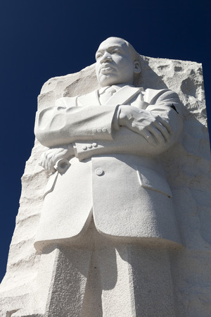 assassinated: Washington DC, USA - October 17, 2014: The Martin Luther King Jr. Memorial located on the National Mall on the Tidal Basin in Washington DC is Americas 395th National Park.