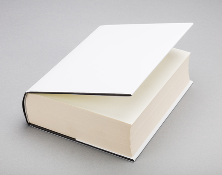 ajar: Thick Blank book with ajar white cover