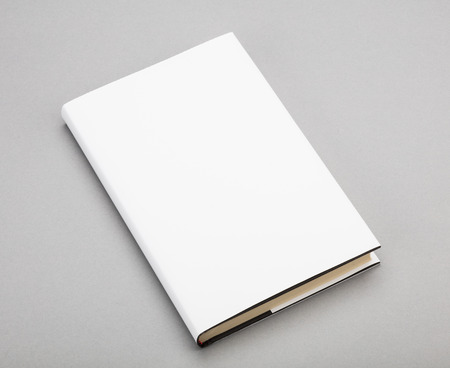 blank book: Blank book with white cover