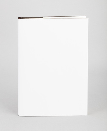 book background: Blank book with white cover