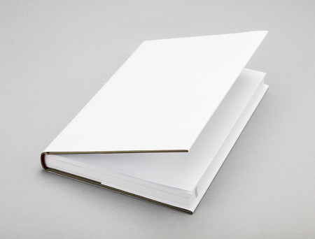 ajar: Blank book with ajar white cover