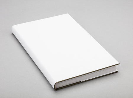cover: Blank book with white cover
