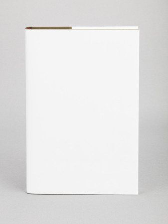 mag: Blank book with white cover