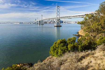 transamerica: San Francisco Panorama with Bay bridge
