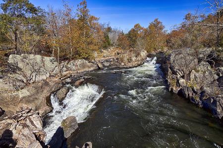 liquid state: Great Falls Park on Potomac River, Virginia, USA