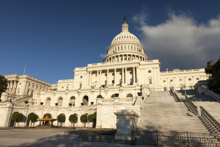 senate elections: The US Capitol in Washington D.C. Stock Photo