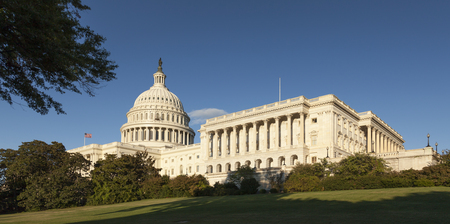 us capitol: The US Capitol in Washington D.C. Stock Photo
