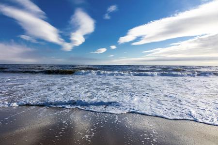 ocean wave: Big wave break spray in the Pacific Ocean