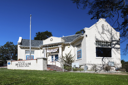 Santa Cruz, USA-October 26,2016 : Santa Cruz, California, Museum of Natural History has been connecting people to the wonders of nature for over 100 years,  highlights the region�s diverse plant, animal, and human communities from the shoreline of  Editorial