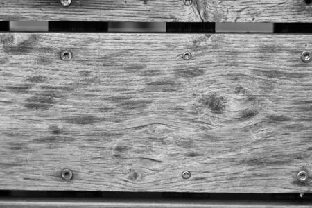 Old wood texture with the screws Reklamní fotografie