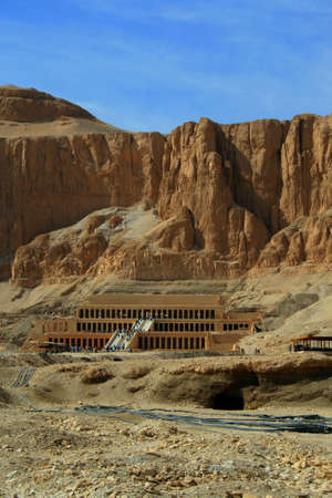 temple of Hatchepsut in Egypt near The Valley Of The Kings photo