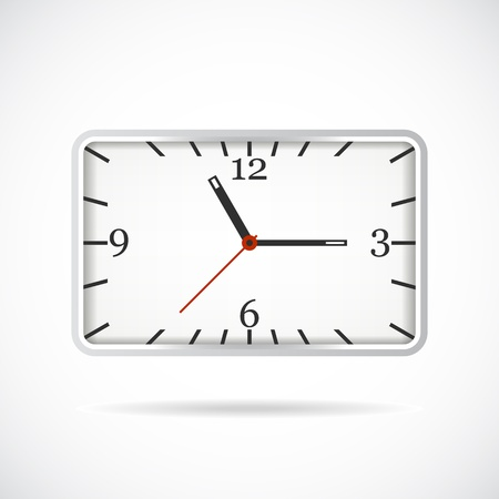 12 o'clock: clock  Illustration