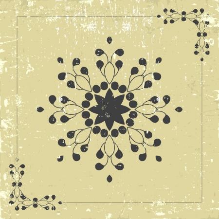 Vintage ornament  Vector