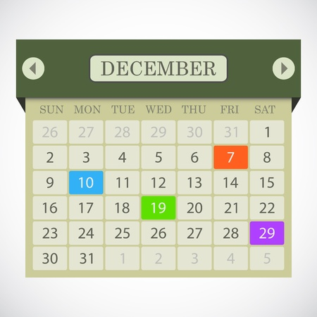 Calendar icon  Stock Vector - 15057291