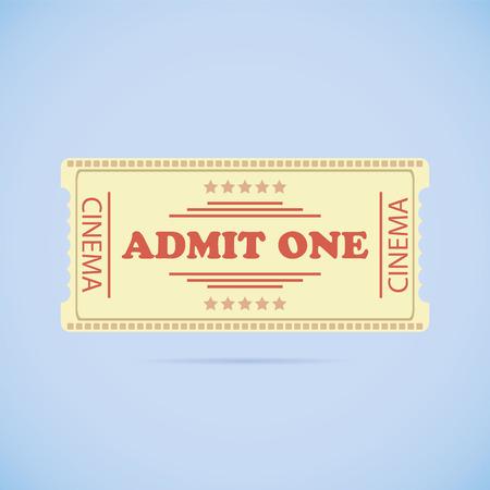 admit: Admit One ticket