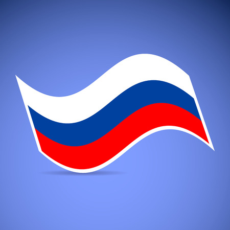 russian flag: russian flag