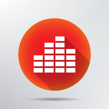 equalizer icon   Vector