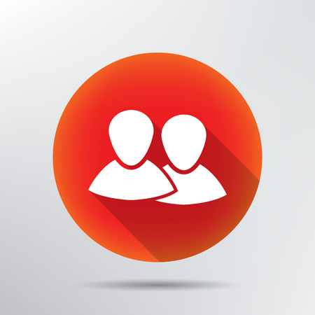 two friends talking: two people icon