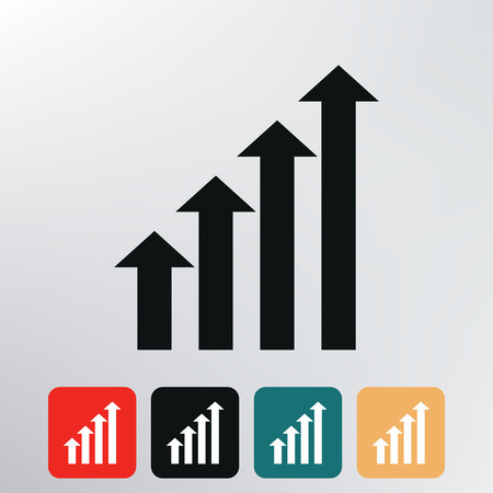 Growth chart icon   photo