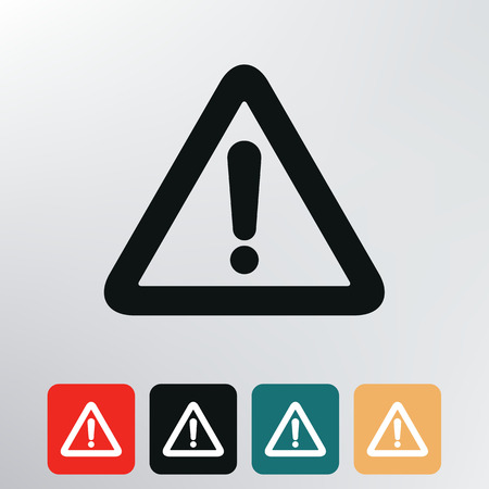 failure: exclamation mark icon