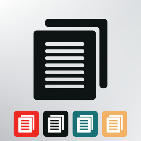 Document icon  photo