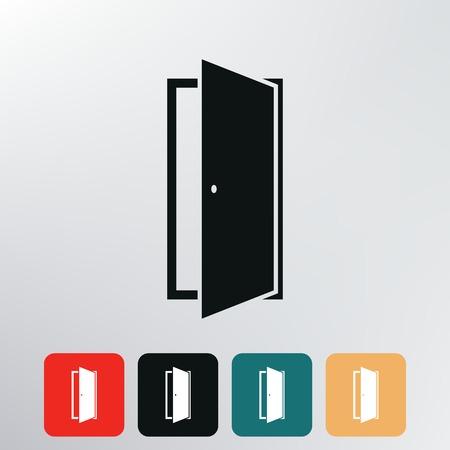 icono de la puerta