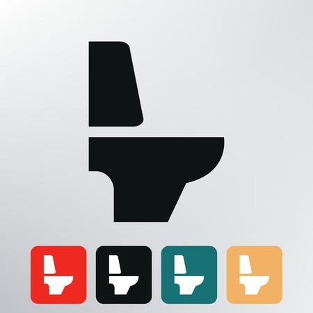 toilet icon Stock Vector - 29225571