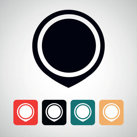 marker icon.vector illustration.