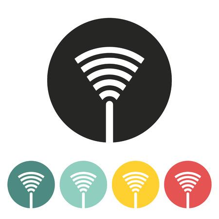 signal antenna.vector illustration. Vector