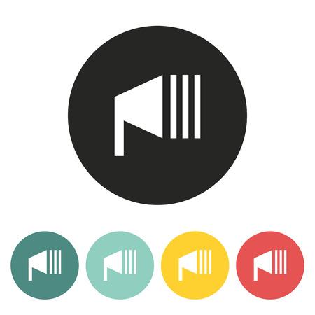 headlight: headlight icon.vector illustration.