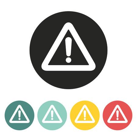 importance: Exclamation mark icon.Vector illustration. Illustration