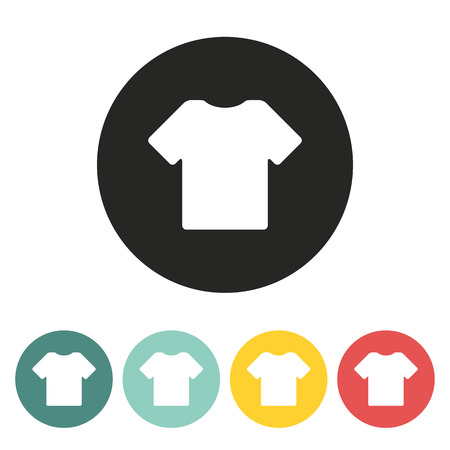 T shirt icon.Vector illustration. Illustration