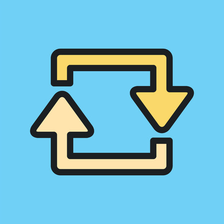 two arrows: Repeat two arrows icon.