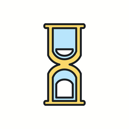 hourglass icon.vector illustration. Vector