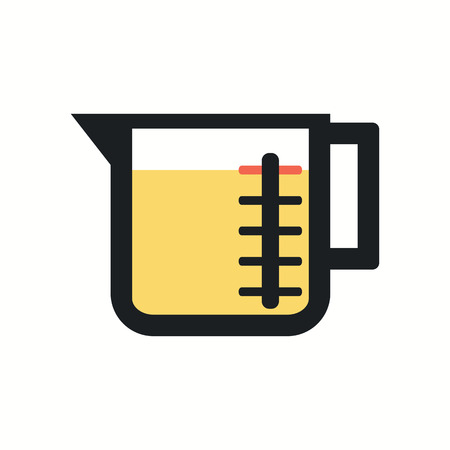measuring cup: measuring Cup illustration. Illustration